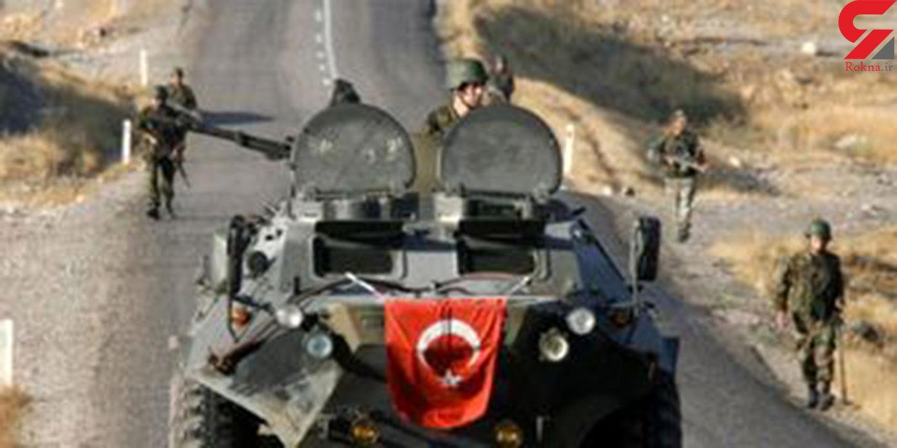 حمله توپخانهای ارتش ترکیه به سوریه