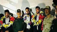 بازگشت ۴ مرزبان ربوده شده به وطن + فیلم