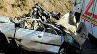 یک کشته و 3 زخمی در واژگونی پژو در قزوین