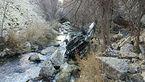سقوط پراید به دره هراز +عکس