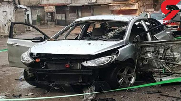 انفجار یک دستگاه سواری هیوندا در آزادراه تهران-قم
