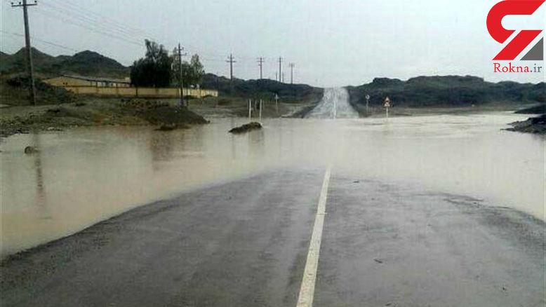 سیل در سیستان وبلوچستان / 60 میلی متر باران ادر اسپکه !