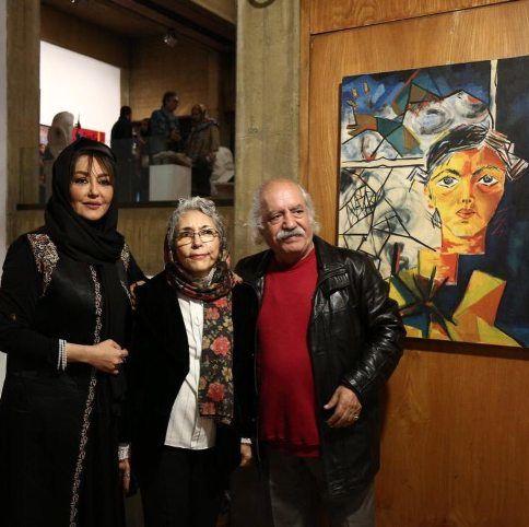 شقایق فراهانی در کنار پدر و مادرش