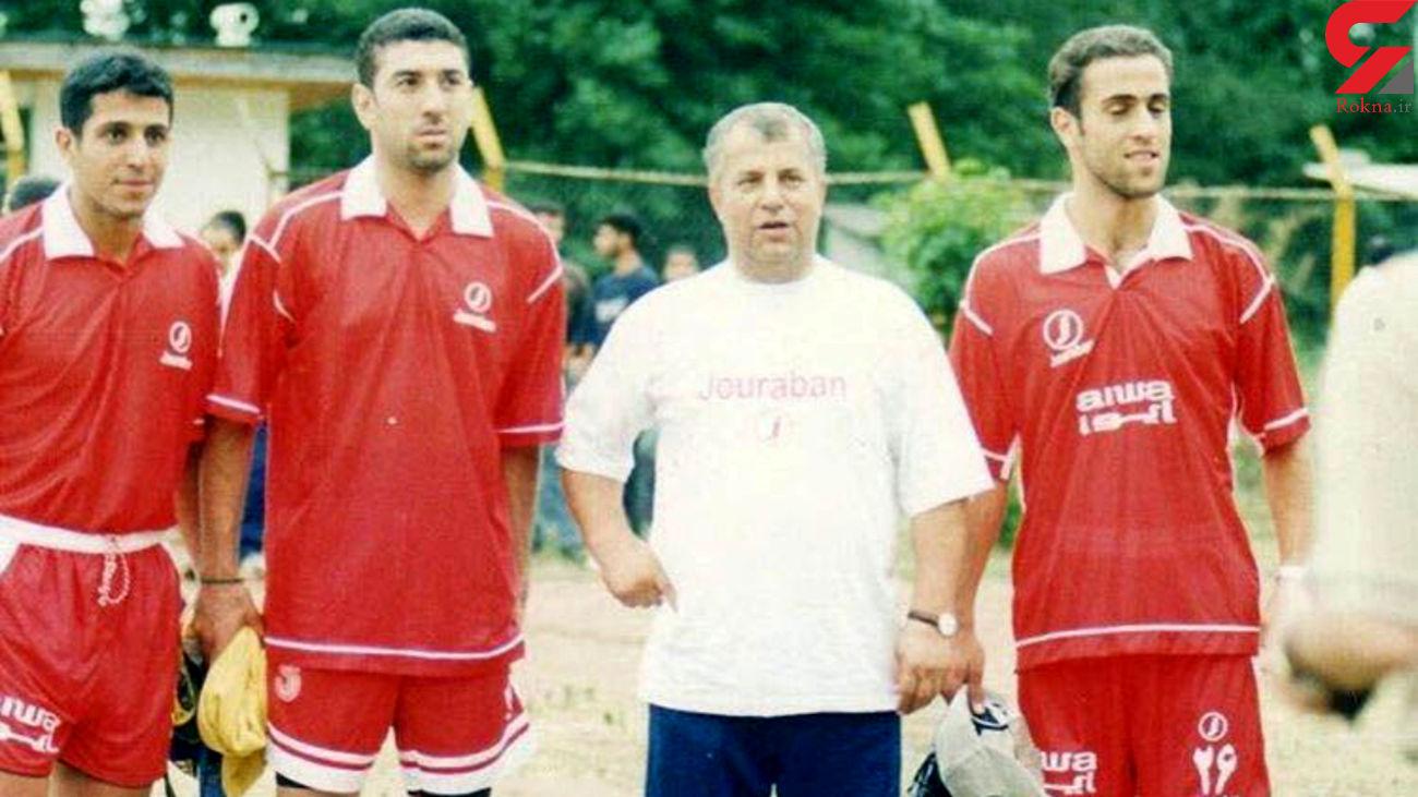 علی انصاریان سلطان بخیه از فوتبال تا سینما