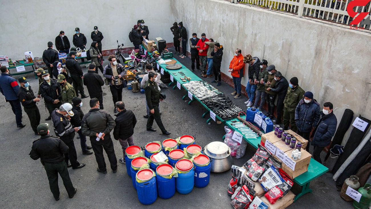 پاتک پلیس به قلب تهران / ماموریت 106 تبهکار در بازار پایتخت  +  فیلم