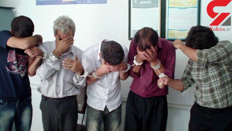 پلیس دستان 55 سارق و فروشنده موادمخدر در اهواز را بست