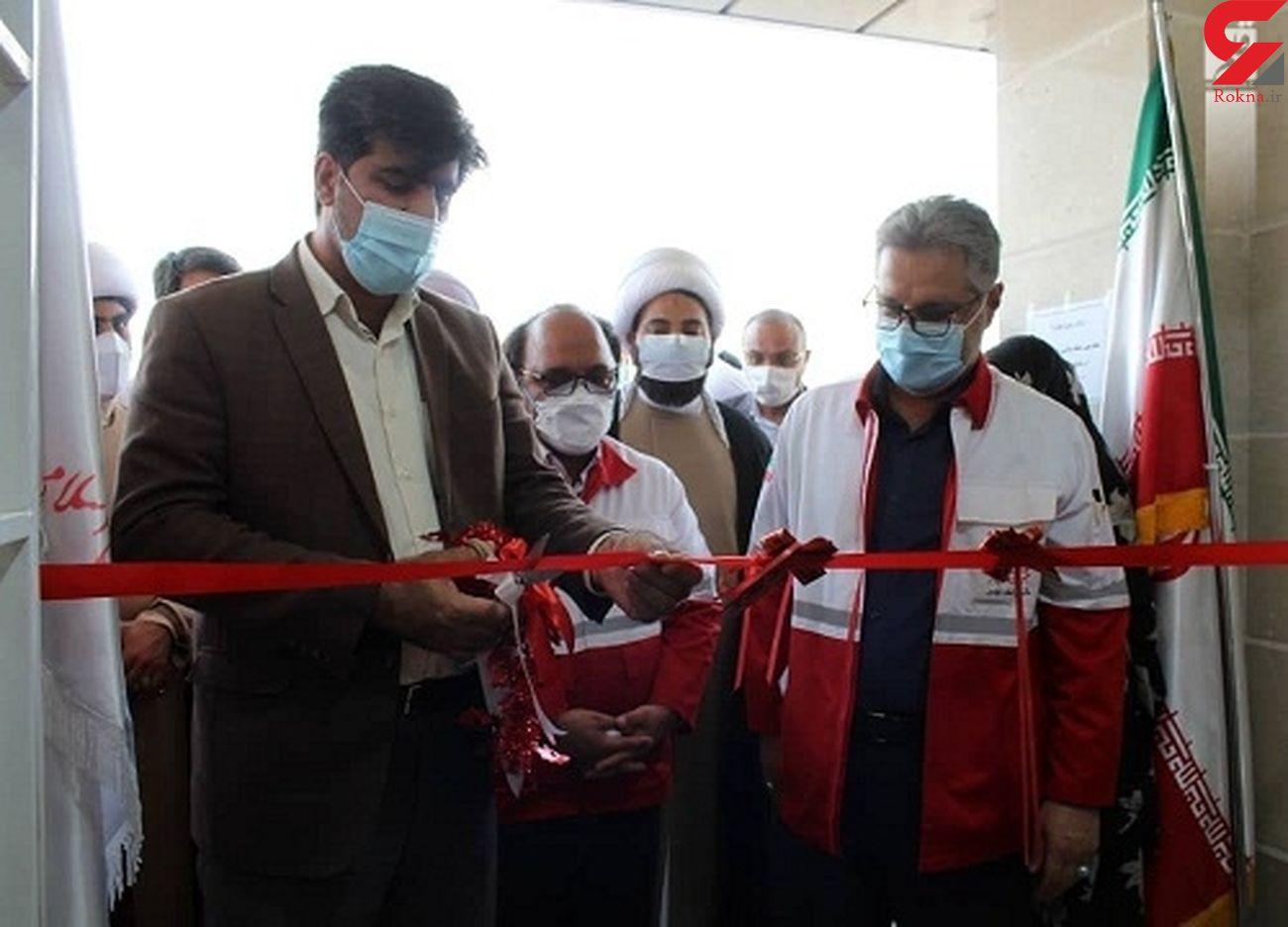 پایگاه امدادو نجات شهر رویدر افتتاح شد