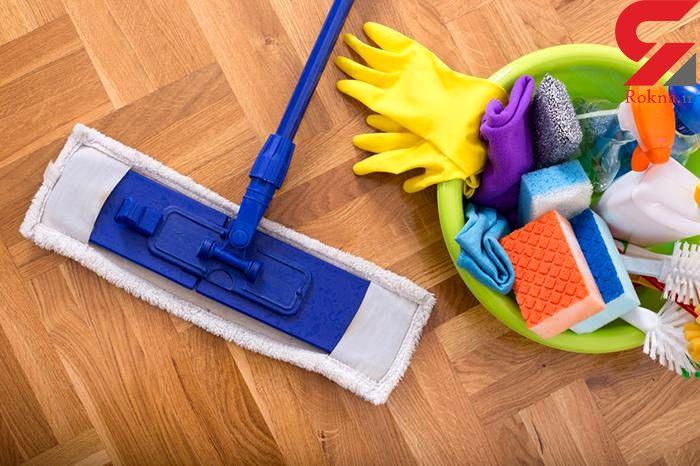 تمیز کردن خانه با مواد طبیعی و بی ضرر