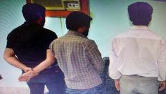 این 3جوان 100کیلو میوه دزدیدند +عکس