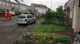 فیلم انفجار مرگبار گاز در انگلیس / 2 خانه تخریب شد + عکس