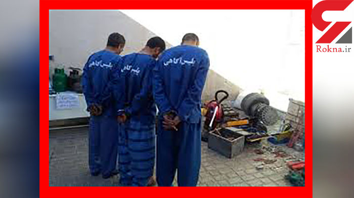 دستگیری 10سارق با 20 فقره سرقت در چهارمحال و بختیاری+عکس
