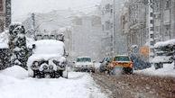 بارش باران و برف ۵ محور کشور را مسدود کرد