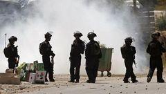 حمله صهیونیستها به یک مدرسه فلسطینی با گاز اشکآور و گلوله پلاستیکی