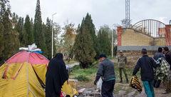 سرنوشت شوم چادرنشینی یک زوج در پارک جنگلی اراک + تصاویر