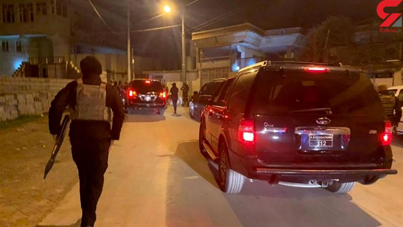 دستگیری یک تیم تروریستی در مناطق نزدیک به ایران+ عکس ها