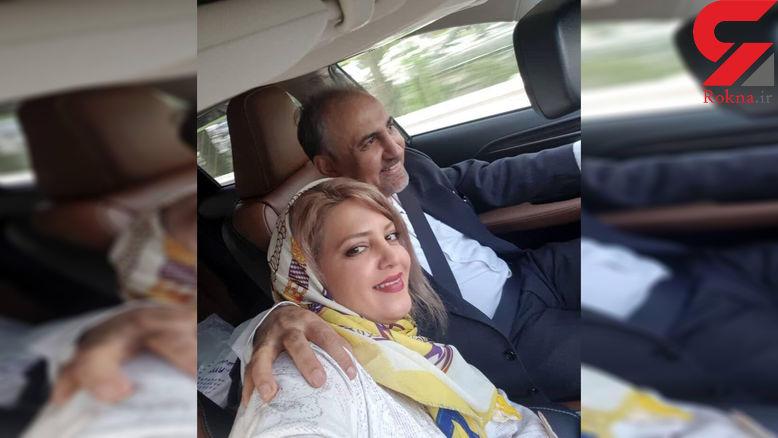 سلفی نجفی شهردار سابق تهران با زن جوانش در ماشین لاکچری! + جزییات