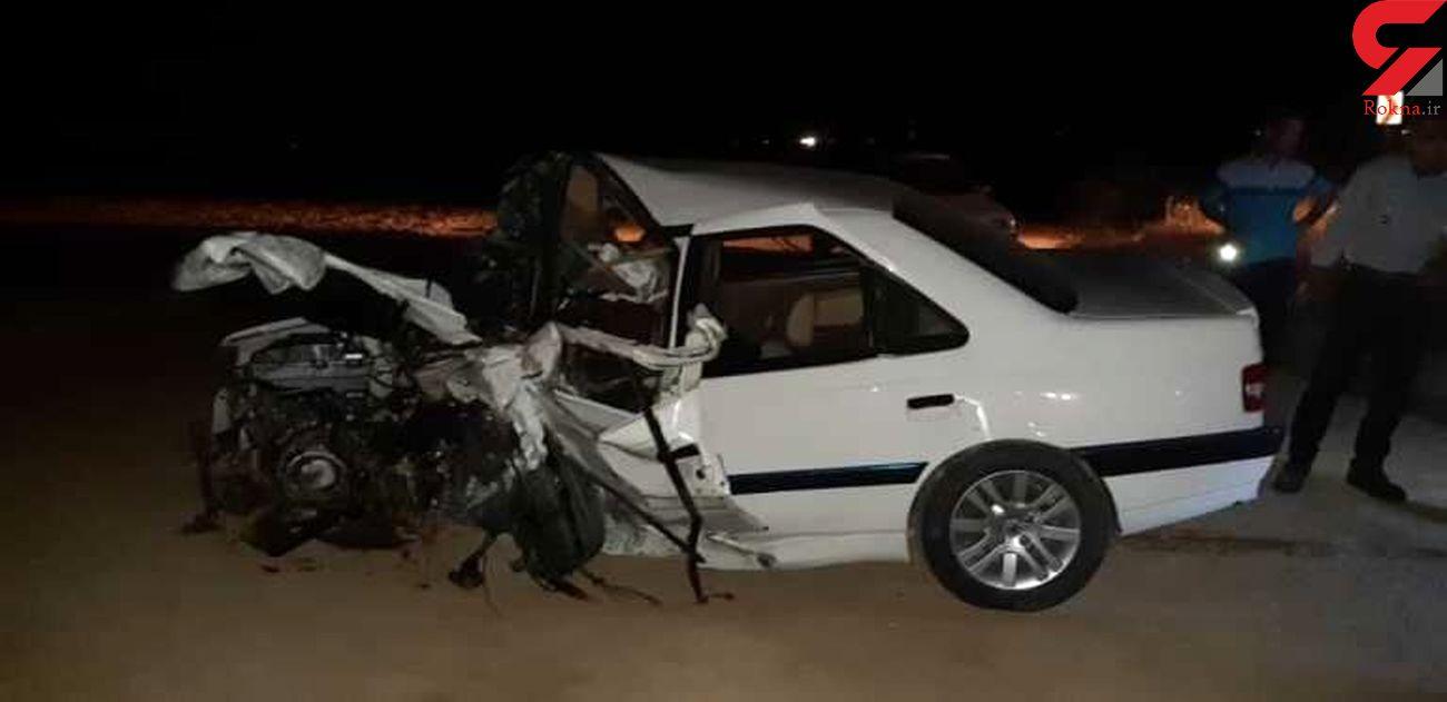 تصادف مرگبار 2 خودروی ایرانی در جزیره شمالی + جزییات