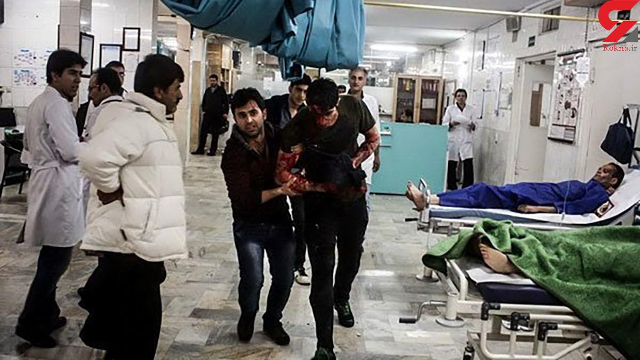 انفجار بزرگ وسط 4 نوجوان تهرانی در گلستان!