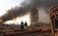 صحنه آهسته انفجار بیروت و عمق فاجعه + فیلم