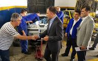 نظارت مدیران خدمات پس از فروش ایران خودرو بر ارائه خدمات به مسافران تعطیلات تابستانی
