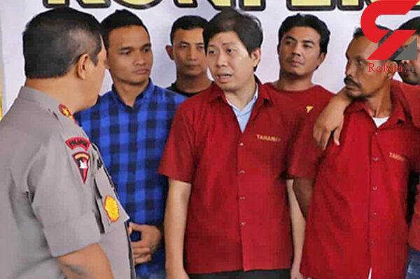 ردپای سلطان پالم در قتل 2 روزنامه نگار / دستگیری در اندونزی + عکس