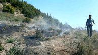 مهار آتش در منطقه حفاظت شده البرز مرکزی