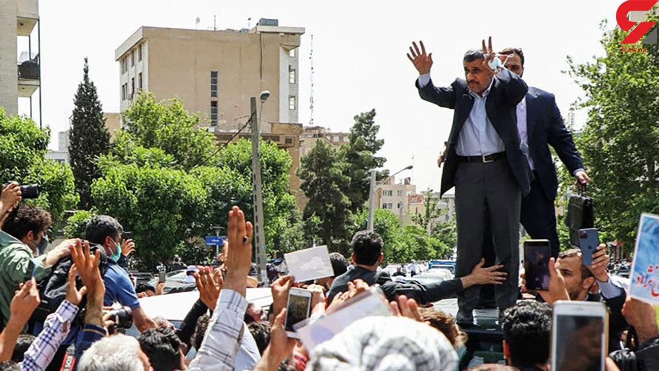 احمدینژاد باز تهدید کرد + فیلم