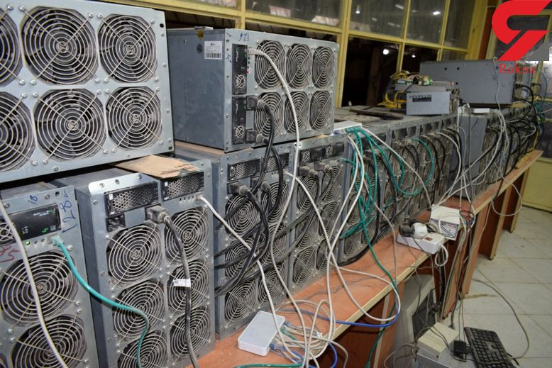 کشف بیش از صد دستگاه تولید ارز دیجیتال در البرز