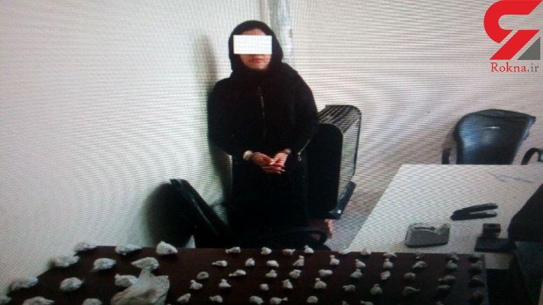 عکس /  راز سیاه خانه مجردی این زن جوان تهرانی در کیانشهر
