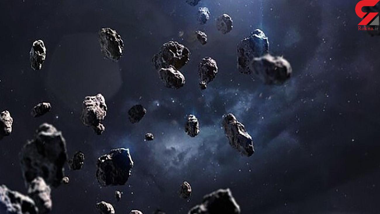 گذر سیارک ها از کنار زمین