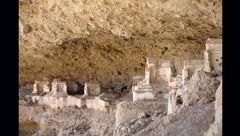 """آشنایی با قبرستان عجیب """"هفتاد ملا""""+ تصاویر"""