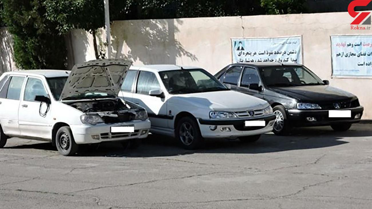 توقیف 5 خودروی متخلف و مزاحم در  شهرکرد
