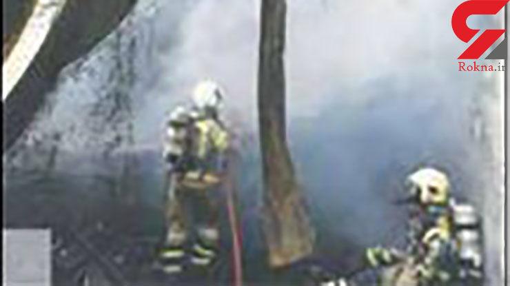 مرگ 6 کارگر در آتشسوزی خانه