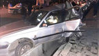 نجات راننده محبوس در خودرو + عکس