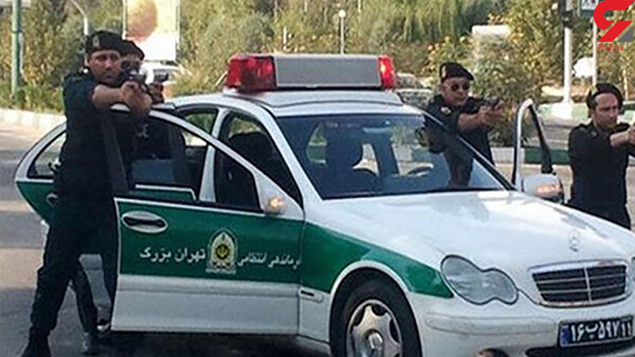سارق سابقه دار با شلیک پلیس خرمشهر زمین گیر شد