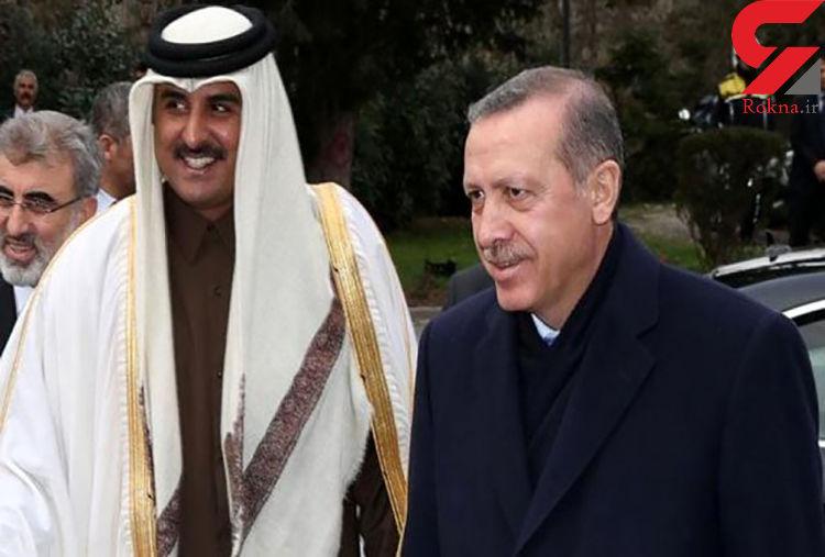 گفتگوی امیر قطر با اردوغان درباره حمله ارتش ترکیه