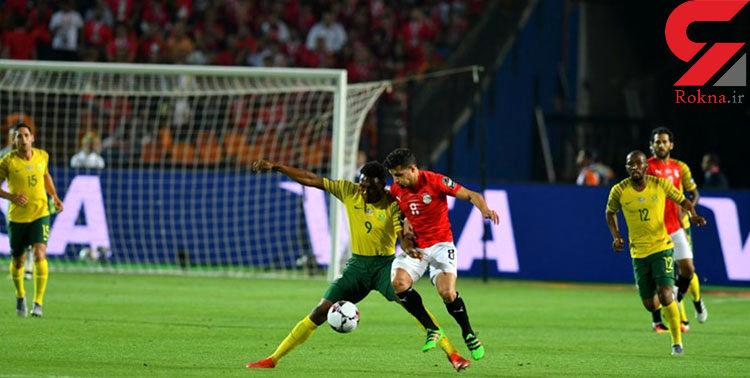 حذف یاران صلاح از جام ملتهای آفریقا / برتری آفریقای جنوبی مقابل میزبان