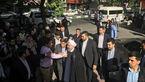 حسن روحانی رای خود را به صندوق انداخت + عکس