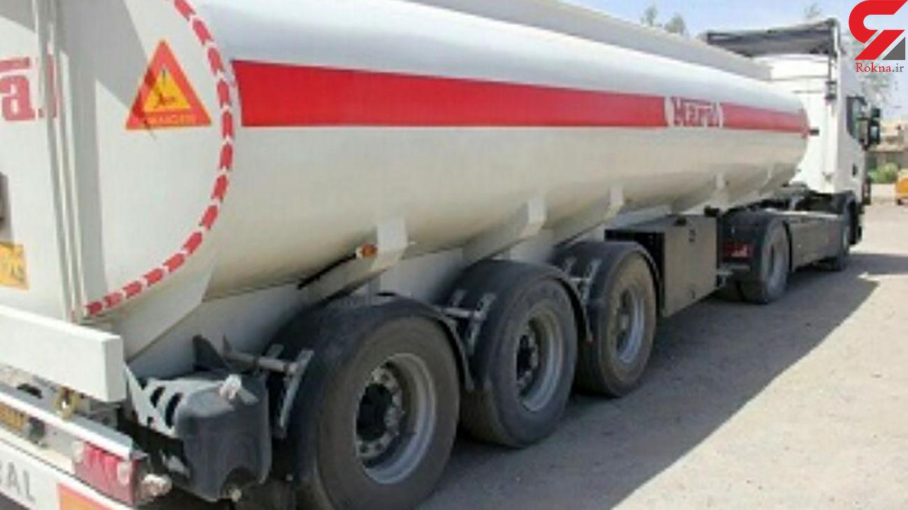 توقیف کامیون حامل 36 هزار لیتر گازوئیل قاچاق در فارس