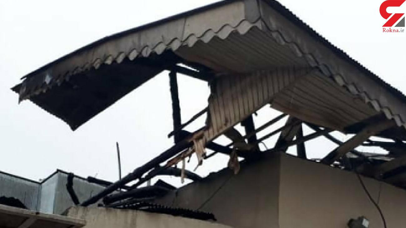 خانه  2 رشتی در آتش سوخت