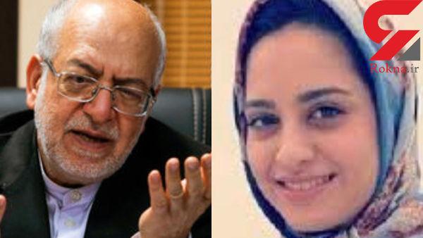 شبنم نعمت زاده بازداشت شد ! /  او دختر وزیر سابق است !