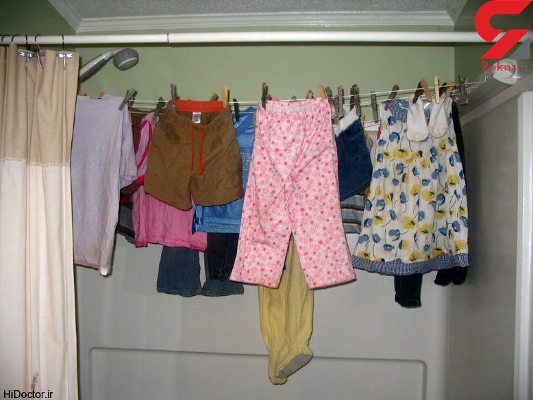 خشک کردن لباس در خانه باعث بروز این بیماری ها می شود!