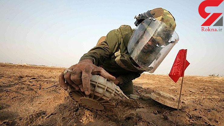 شناسایی بیش از 36 هزار هکتار اراضی آلوده به مین و گلوله در خوزستان
