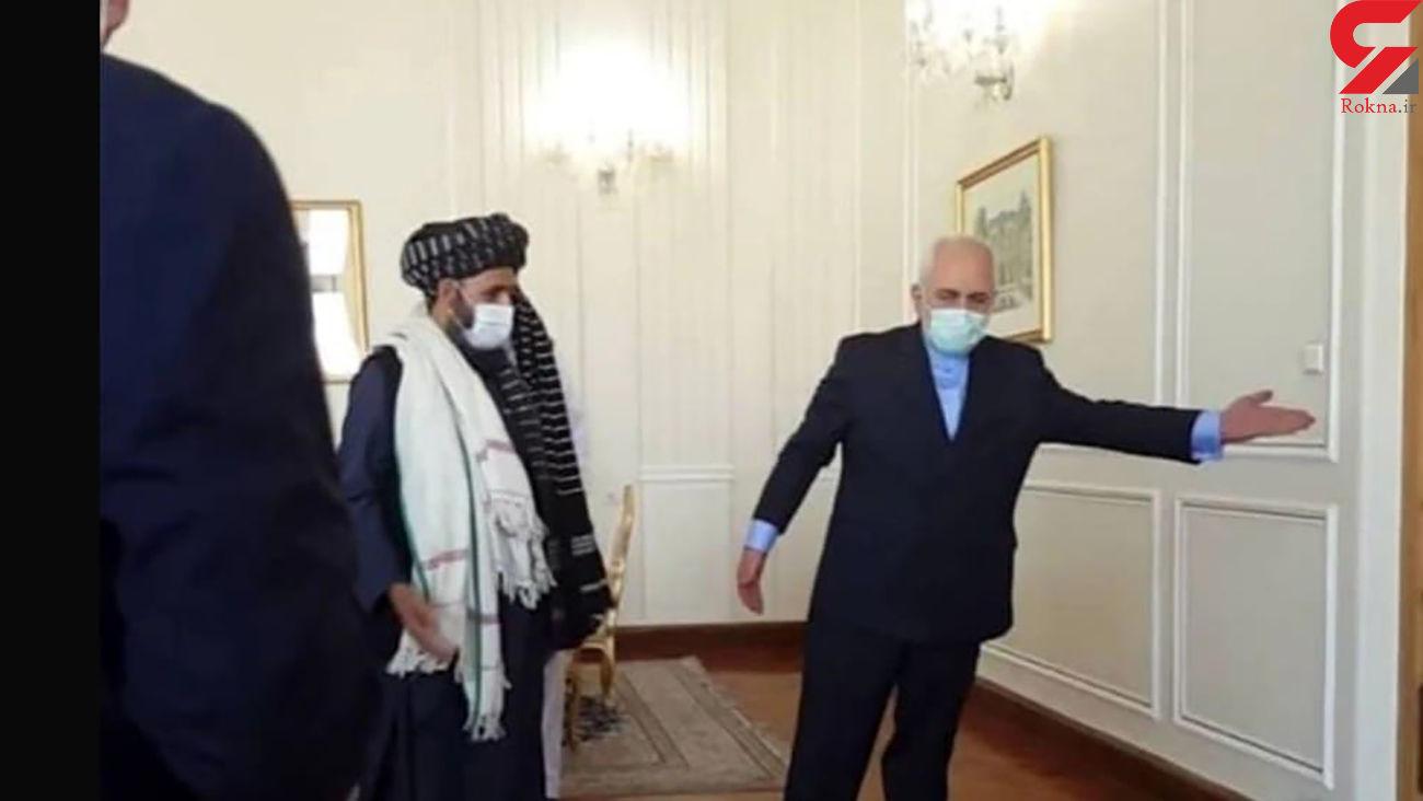 دیدار هیئت طالبان با ظریف