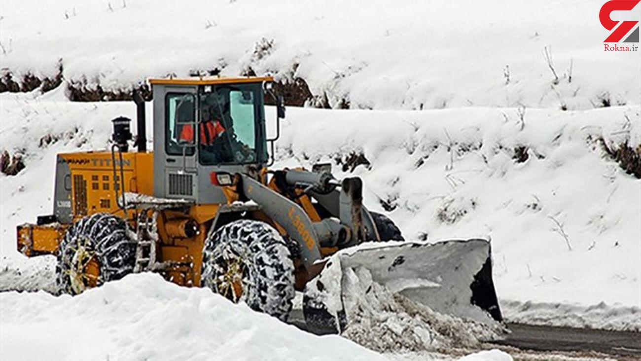 برف 40 سانتی متری در هشترود/ راه 120 روستا در هشترود بسته شد