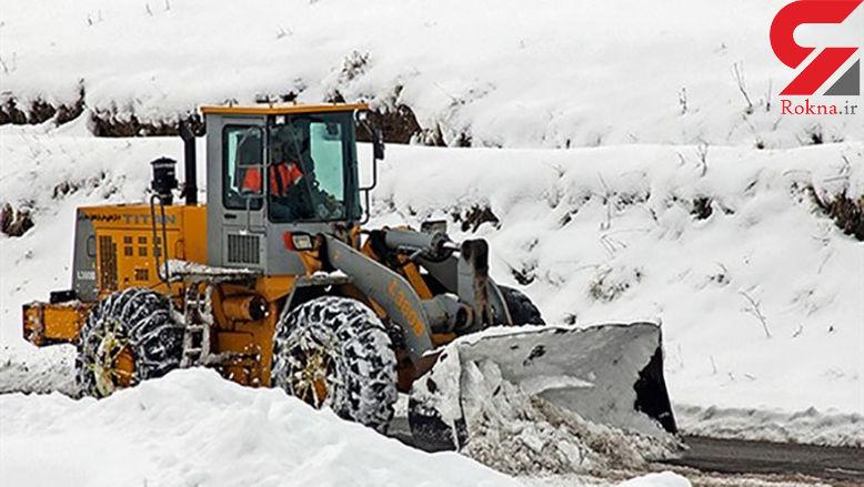 کولاک راه روستاهای کردستان را بست