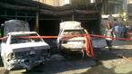 آتش درکرج 3 تعمیرگاه خودرو را سوزاند