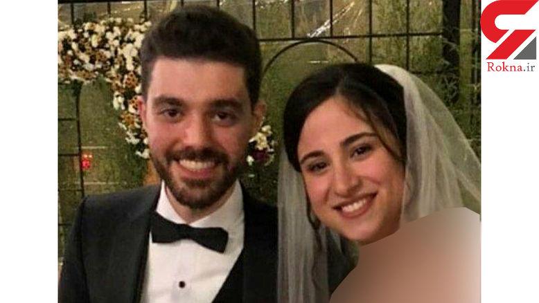 عکس عروسی زوج نابغه دانشگاه شریف 6 روز قبل از کشته شدن در سقوط هواپیما + فیلم