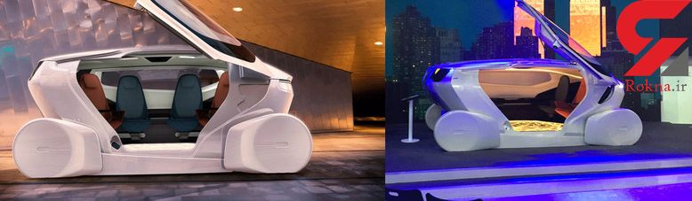 اینموشن؛ خودروی مفهومی NEVS با فناوری خودران سطح ۵+ فیلم و عکس