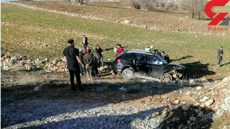عکس هولناک از خودرویی که دکتر سهرابی را به کام مرگ کشاند